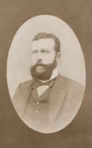 Alférez de Fragata Zenón Pedro Milia y Rico, en Shangai, China, 1878.